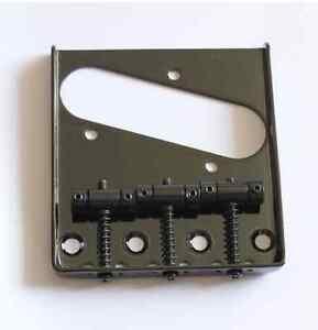 NUEVO-puente-TELECASTER-negro-3-puente-vintage-estilo-para-Fender-u-otro-TELE