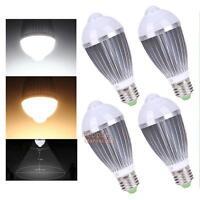 9W LED Light Bulb E27/E26 PIR Auto Motion Sensor Infrared Detection Lamp Bulbs