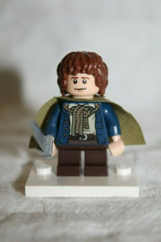 Lord Of The Rings Lego minifigure 9473 Pippin lor012 Pristine condition!