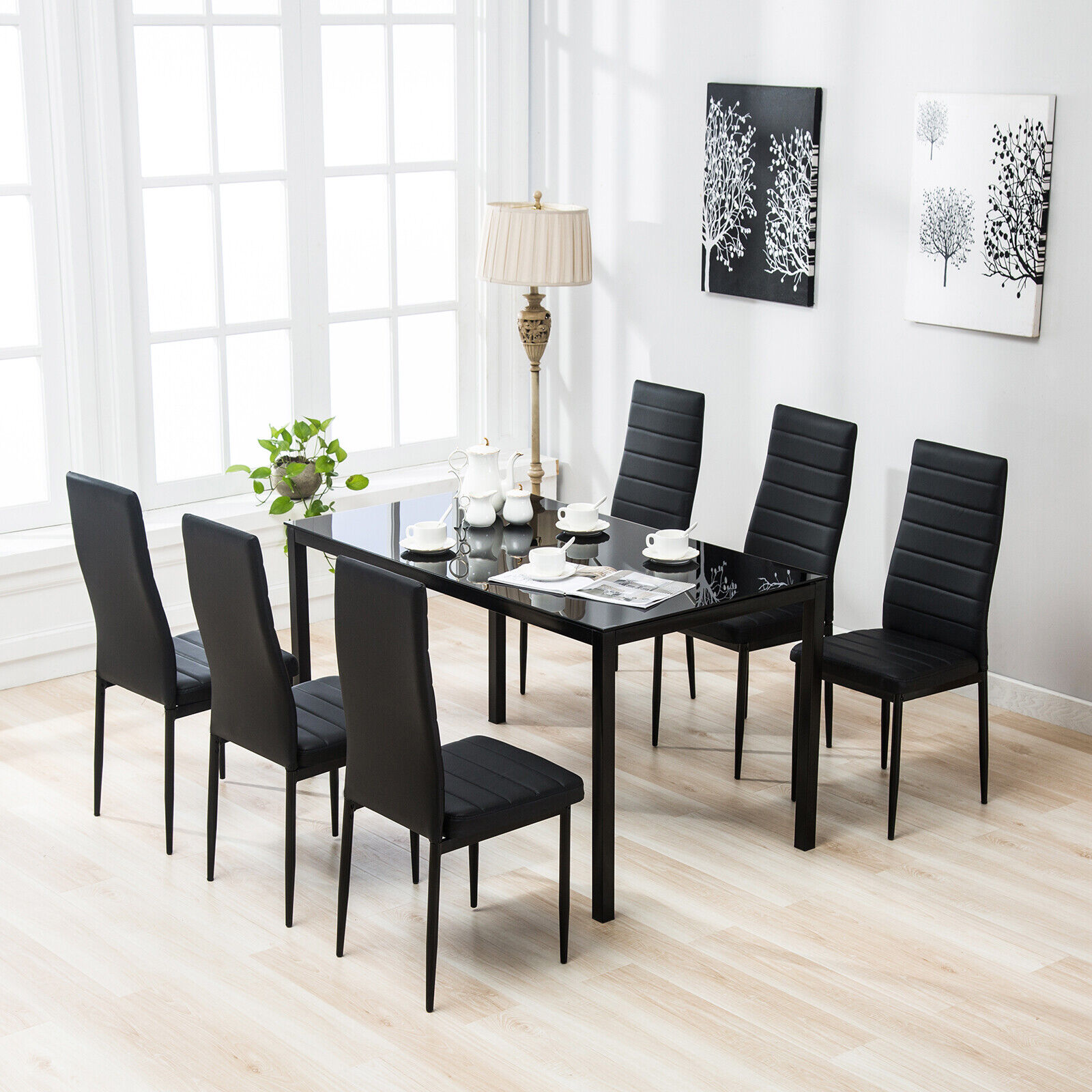 Glass Dining Table Set With Price