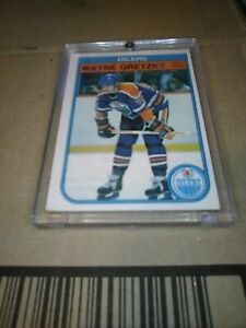 1982-83 OPC O PEE CHEE Hockey #106 WAYNE GRETZKY EDMONTON OILERS Card