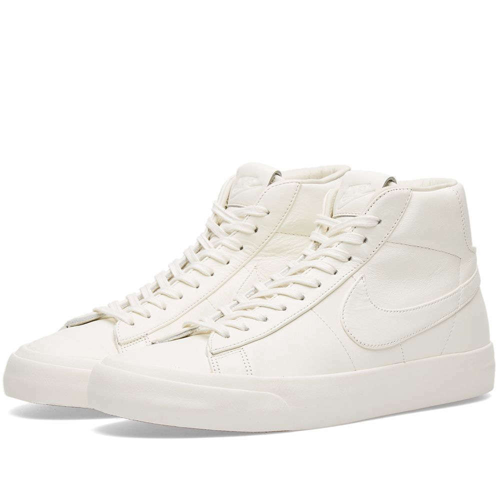 Men's Nike Lab Blazer Studio Mid Premium White - 11D - 100% Authentic NikeLab