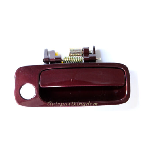DHE079 for 97-01 Toyota Camry Outside Door Handle Front Right Dark Red 3N6 NEW