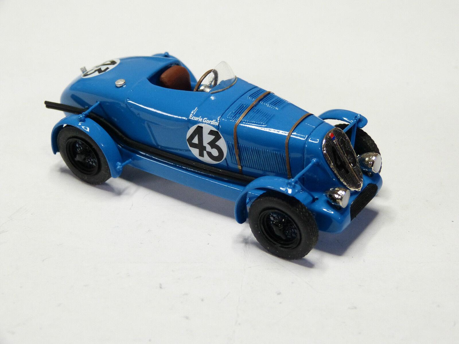 Kit for miniature auto ccc  simca fiat balilla le mans 1937-1938 ref 205