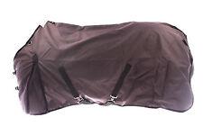 "72"" 600-D Turnout Waterproof Rain Horse SHEET Light Winter Blanket Gusset Brown"