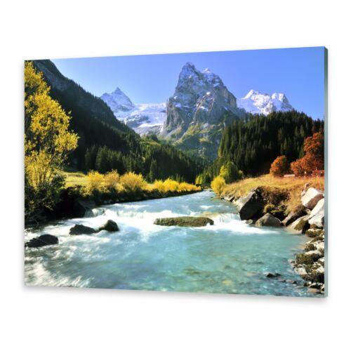 Glasbilder Wandbild Druck auf Glas Schweizer Alpen