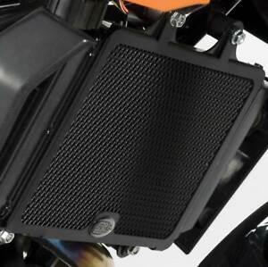 R-amp-G-Racing-Radiator-Guard-Black-For-Kawasaki-2007-ZZR1400-A7F