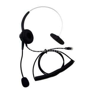 Details about Headset For Genesys Call Center AVAYA 5410 5420 Nortel 1120E  1140E IP Phones