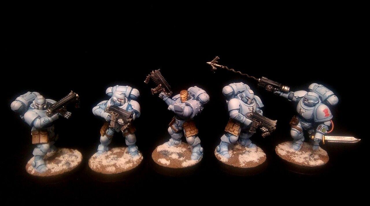 rödO ATT FARA PRO -PAINTED Primaris Extorianter Reivers Squad Kill Team 10 modellllerler