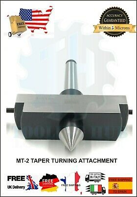 Taper Turning Attachment MT3 Shank 3MT For Off-setting Lathes Tailstock