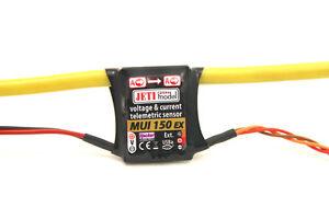 JETI-Modelo-2-4ghz-GHz-Duplex-mui-150-Voltaje-POTENCIA-Sensor