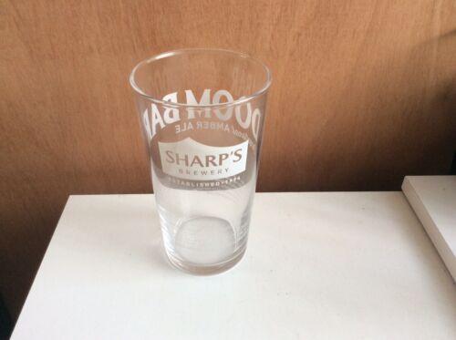 Sharp's Doom Bar Pint Glass CE Stamped