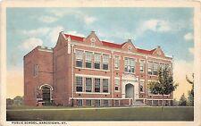 Kentucky Ky Postcard 1923 BARDSTOWN Public School Building
