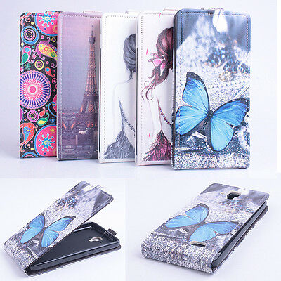 NEW Smart Luxury PU Leather Protective Cover case  For Lenovo A536 smartphone