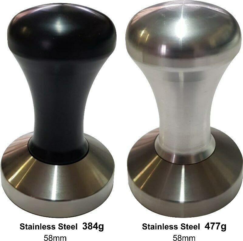 Tampers Saturn Black or Aluminium Handle (58mm)