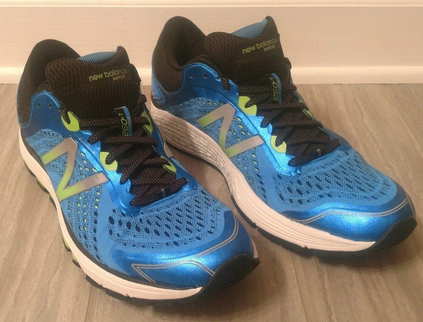 NEW para hombre 1260v7 Azul BALANCE verde Correr Traininng Zapatos  tamaño  12.5D