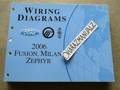 2006 ford fusion mercury milan lincoln zephyr wiring Subwoofer Wiring Diagrams