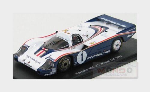Porsche 956Lh Rothmans Porsche System #1 Winner Le Mans 1982 SPARK 1:43 43LM82