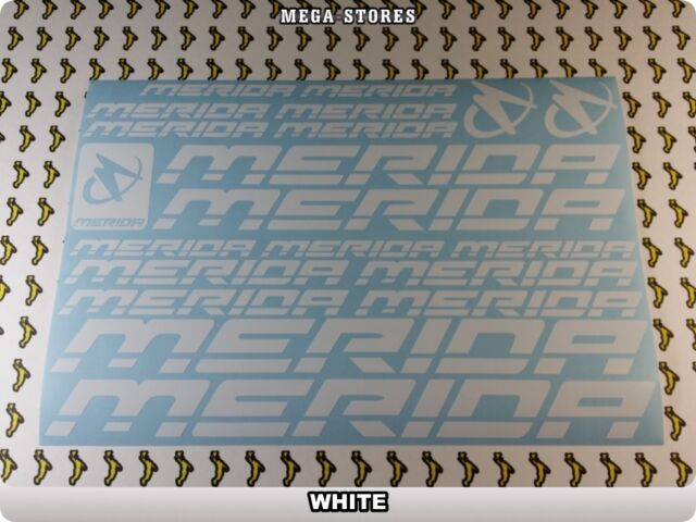 MERIDA Stickers Decals Bicycles Bikes Cycles Frames Forks Mountain MTB BMX 59JB