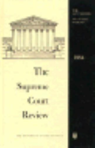 The Supreme Court Review, 1984