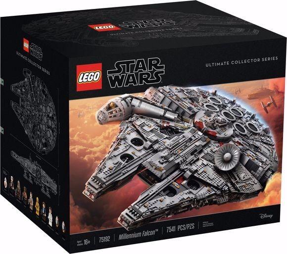 LEGO estrella guerras  75192 UCS Millennium Falcon ULTIMATE DA COLLEZIONE  NUOVA  non aperti  essere molto richiesto