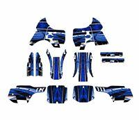 Kx 500 Graphics For Kawasaki 1994 - 2002 Dirt Bike Sticker Kit 2001 Blue