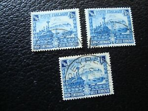 Italy-Stamp-Yvert-Tellier-N-431-x3-Cancelled-A37