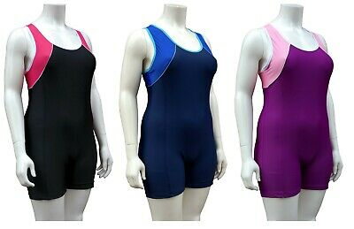 ACCLAIM Fitness Tavira Ladies Boy Leg Modesty Swimming Costume Lined Front 2020
