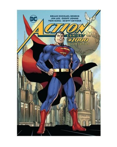 Action Comics #1000 HC Deluxe Edition #1-1ST NM 2018 Stock Image