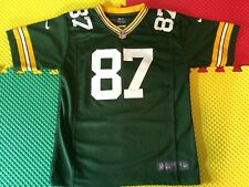Nike Jordy Nelson Oakland Raiders NFL Boys Youth 8-20 Black Home On-Field Jersey