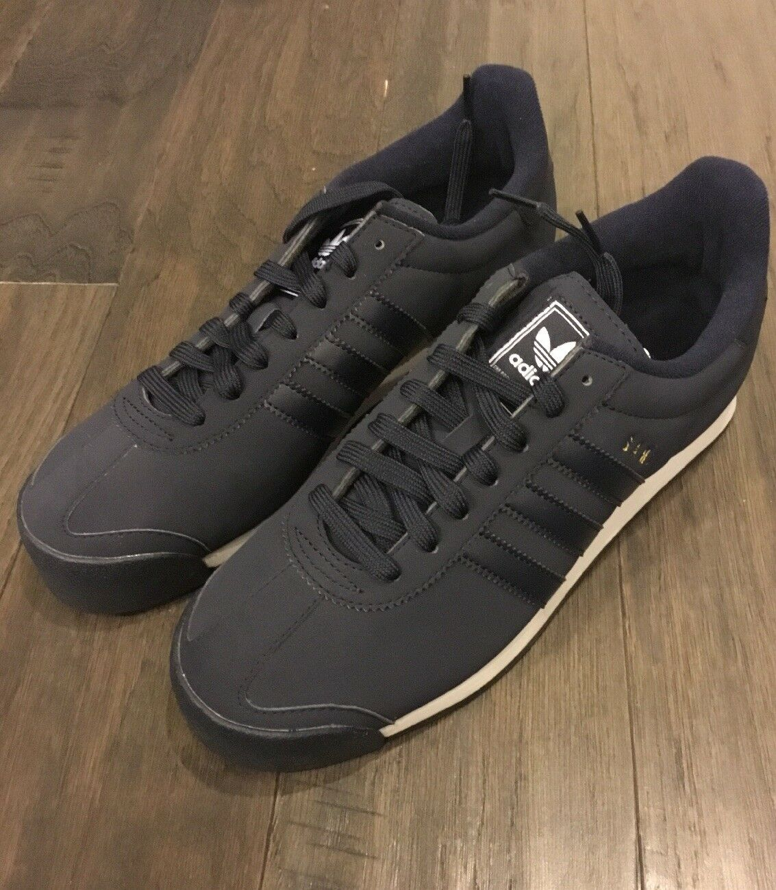 Adidas Samoa Men's shoes New in box size 9 BY3514ink bluee Sneakers