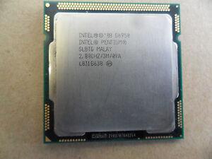 Lot of 4 Intel Pentium G6950 SLBTG 2.8GHz Dual Core Processors