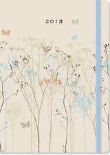 2013 Butterflies 16-month Weekly Planner Compact Engagement Calendar