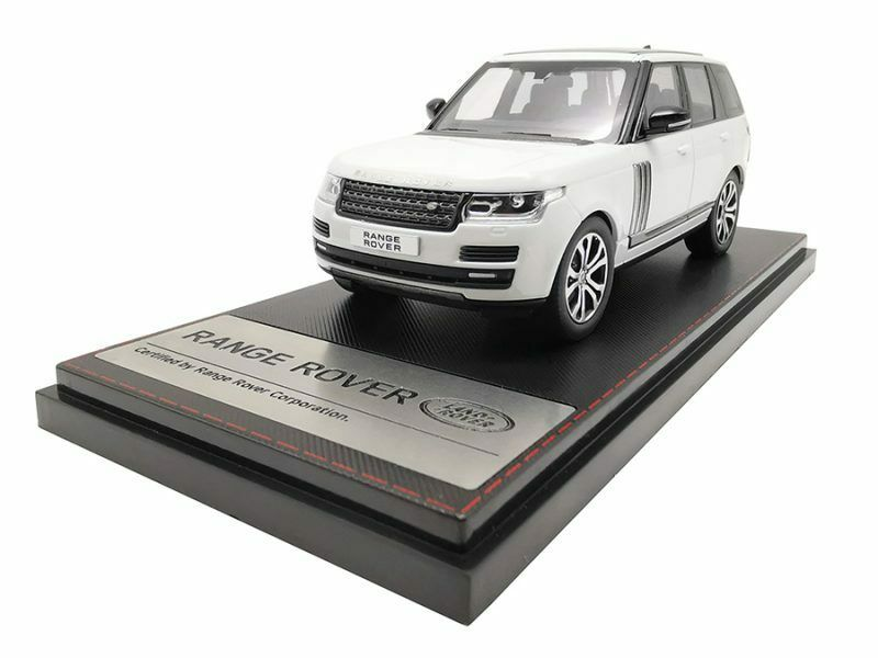 Range Rover Sv Carbiography Dynamic 2017 Weiß 1 43 Model LCD MODELS