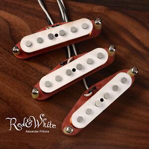 Strat-Pickups-set-fit-Fender-Stratocaster-Fullerton-R-amp-W-style-Scatter-wound