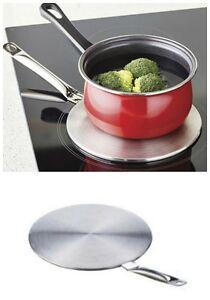 induction hob converter 19cm adapter use standard pots. Black Bedroom Furniture Sets. Home Design Ideas