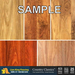 12mm Laminate Flooring Floating Floor Timber Click Lock Floorboards Sample Pack Ebay