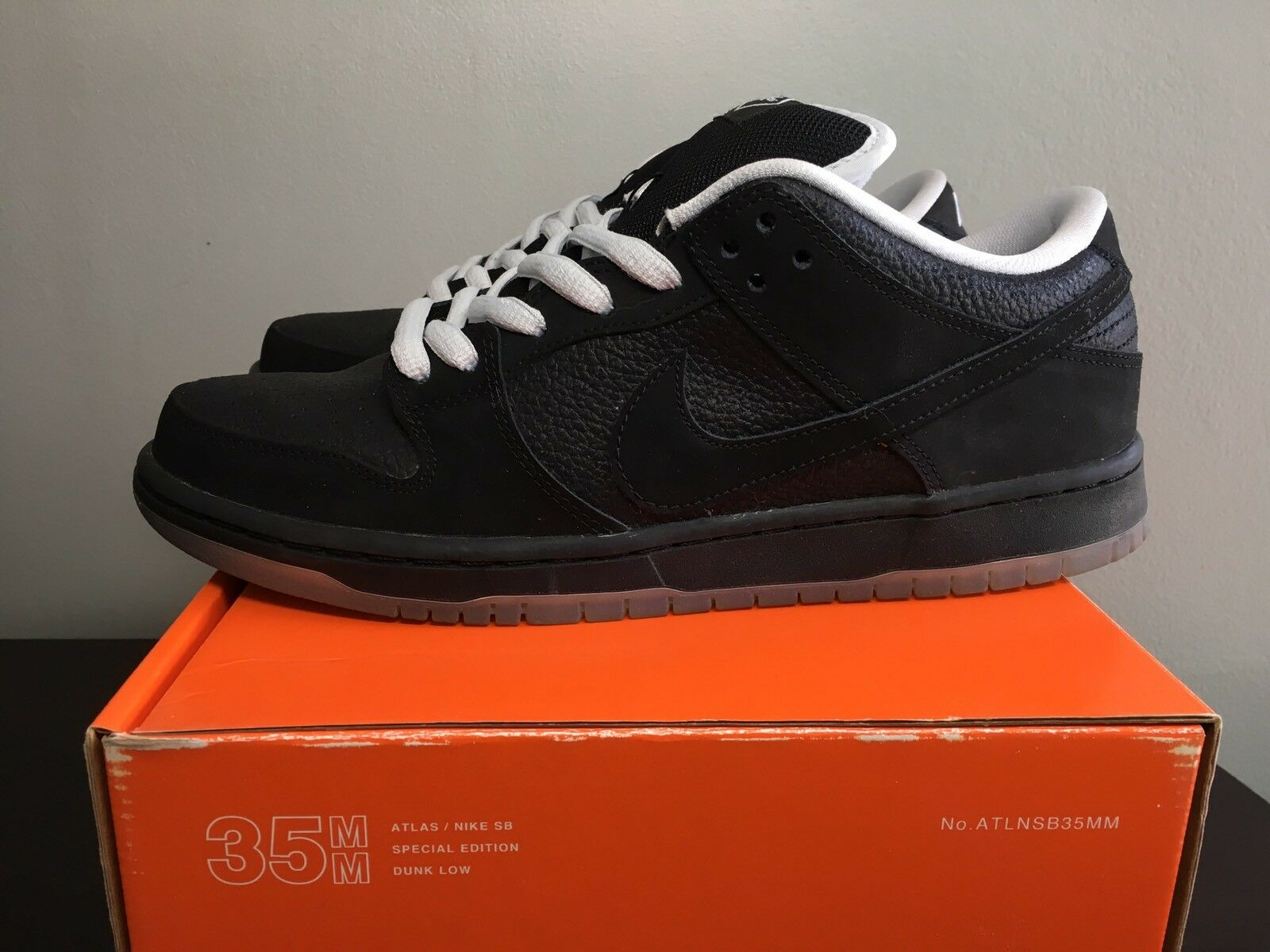 Nike SB Dunk Low QS Atlas Black In Store Only ISO 504750-066 Size 10