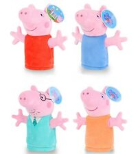 Peppa Pig George Family Puppets Baby Kids Development Pretend Plush hand Toys