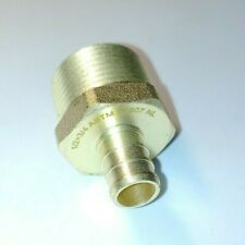 Lot Of 25 12 Pex X 34 Male Mpt Adapter Threaded Brass Fittings