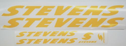 Downtube Chainstay Set Toptube Stevens Bicycle Paint Mask Decals ~ Headtube