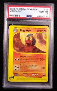 PSA-10-Magcargo-17-Non-Holo-Skyridge-2003-Gem-Mint-Card