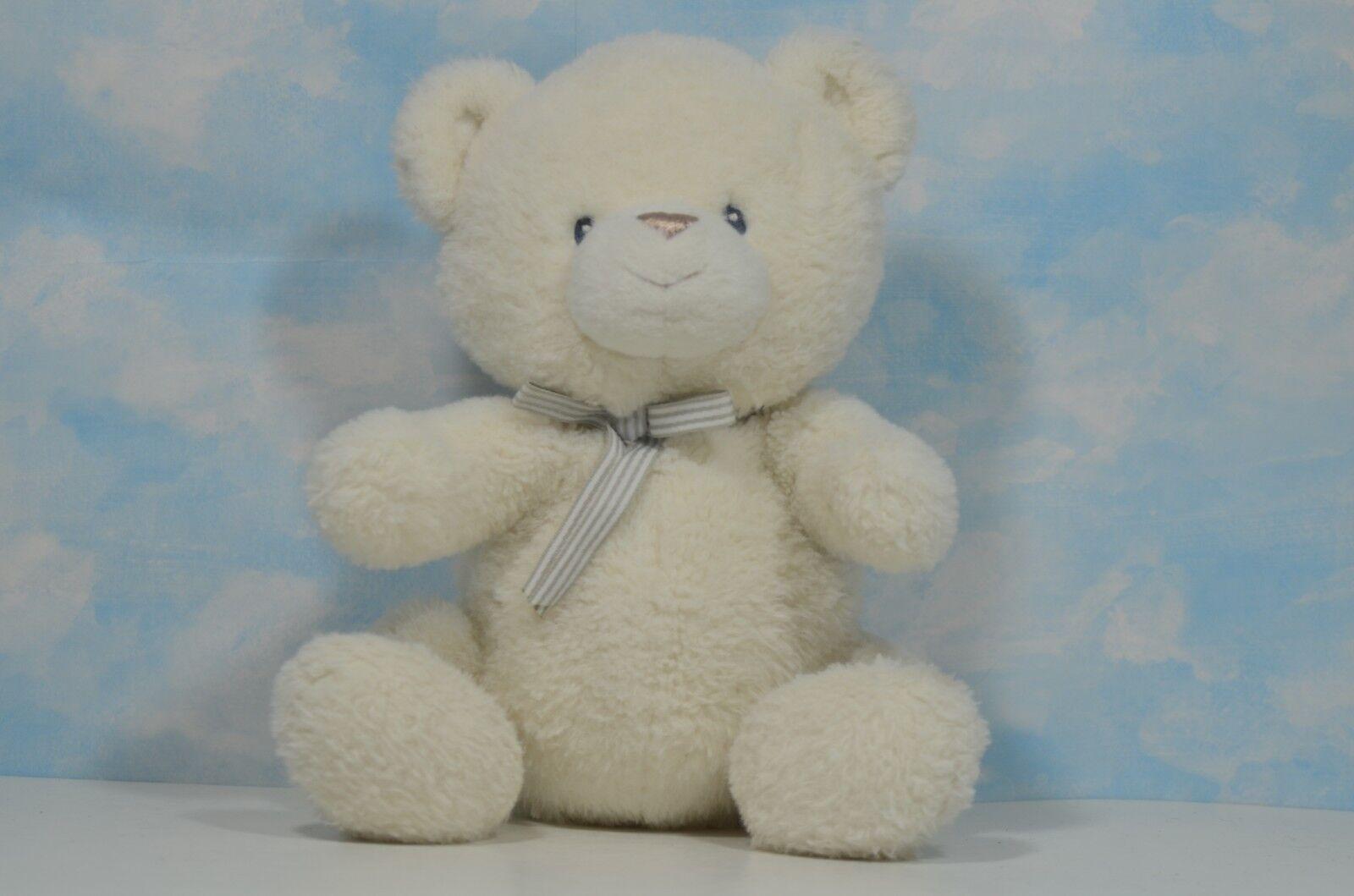 """12/"""" Baby GUND Oh So Soft Teddy Bear Stuffed Animal Plush Cream"""