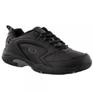 Hi-Tec-BLAST-LITE-Mens-Exercise-Running-Jogging-Lace-Up-Trainers-Black-Grey