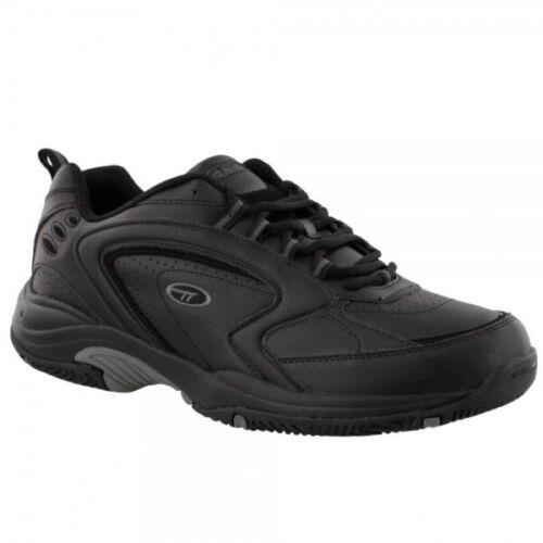 Hi-Tec BLAST LITE Mens Exercise Running Jogging Lace Up Trainers Black//Grey