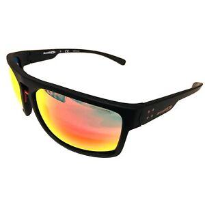 NEW-Arnette-Brapp-Sunglasses-Matte-Black-Frame-Red-Mirror-AN4239-01-6Q-62