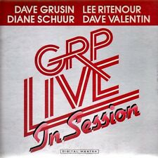 """DAVE GRUSIN & LEE RITENOUR """"GRP LIVE IN SESSION"""" PREMIUM QUALITY USED LP (VG+EX)"""