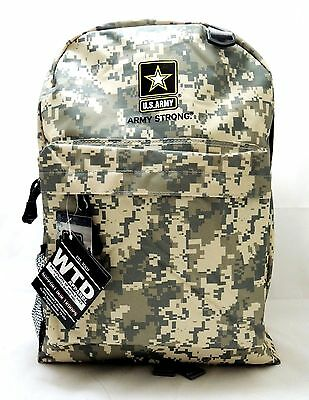 US Army Backpack - Digital Camo Print - Official Licensed Product of U.S. Army