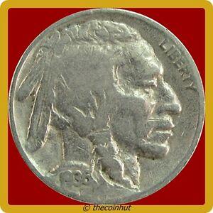 1936-P-Buffalo-Good-Indian-Head-Nickel-Coin-US-Mint-Coins-Coinhut4566