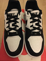 Nike Priority Low Q3 Ankle Trainers Mens White/black Size 10 Uk Brand In Box